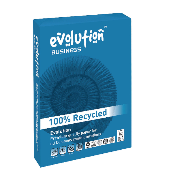EVOLUTION BUSINESS A4 100GSM PK500 WHITE