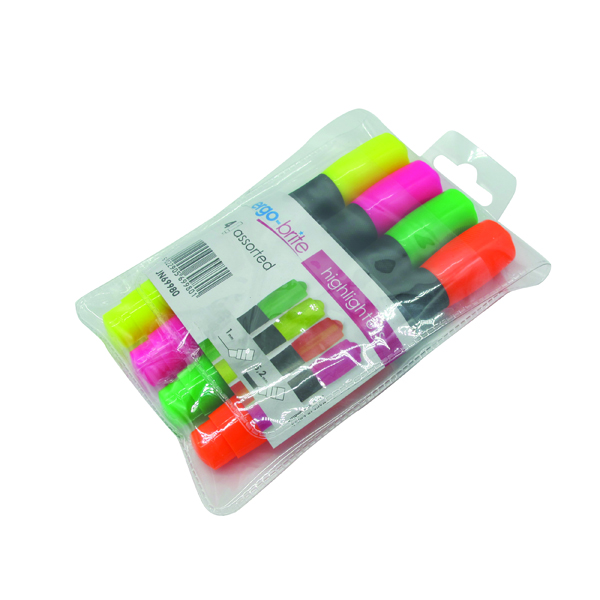 ERGO-BRITE HIGHLIGHTERS ASSTD